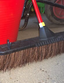 yard broom stable broom