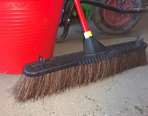yard broom stable broom