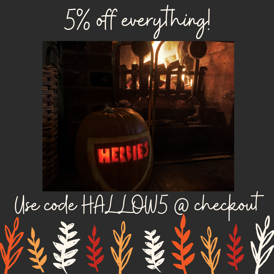 Hallowwen 5% off